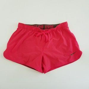 Nike women's dri-fit salmon running shorts. Size S